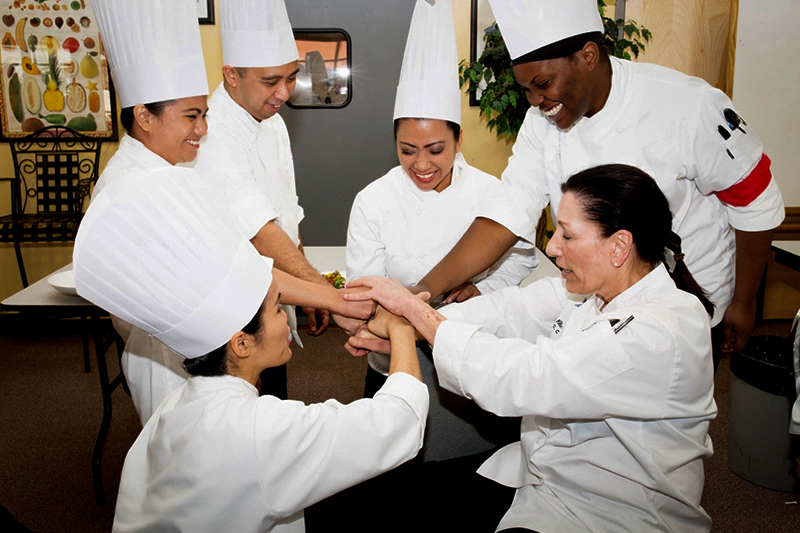Cooks and chefs work as a team to increase the revenue of their food business